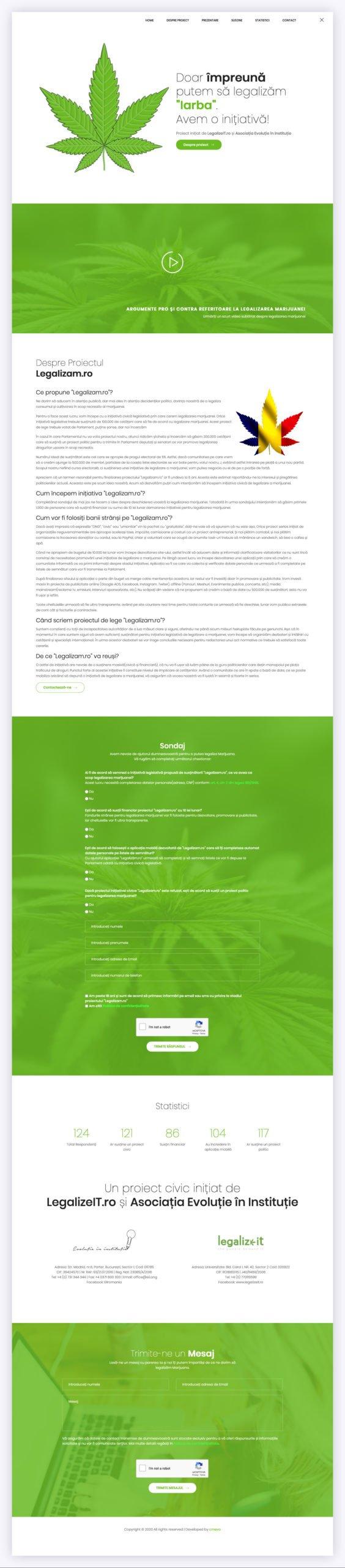 legalizam.ro website