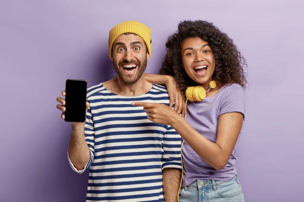 promovează aplicația mobil